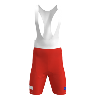 Culotte Bandera de Chile Mod. 230 TNT Cycling