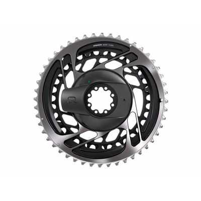 PLATOS / ARAÑAS POWER METER RED AXS Gris Luna 12V 50/37T DM SRAM