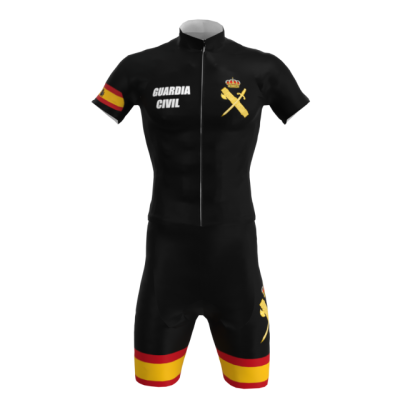 Equipación Corta Personalizada Guardia Civil TNT Cycling