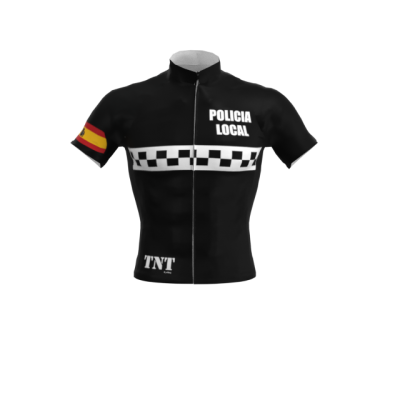 Maillot Corto Negro Policia Local Mod. 252 TNT Cycling