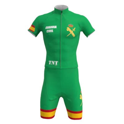 Equipación Corta Verde Guardia Civil Mod. 256 TNT Cycling