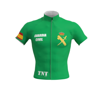 Maillot Corto Verde Guardia Civil Mod. 256 TNT Cycling