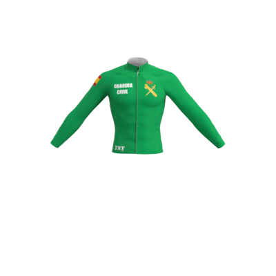 Maillot Largo/Térmico Verde Guardia Civil Mod. 264 TNT Cycling