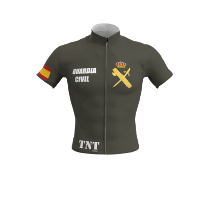 Maillot Corto Verde Oscuro Guardia Civil Mod. 274 TNT Cycling