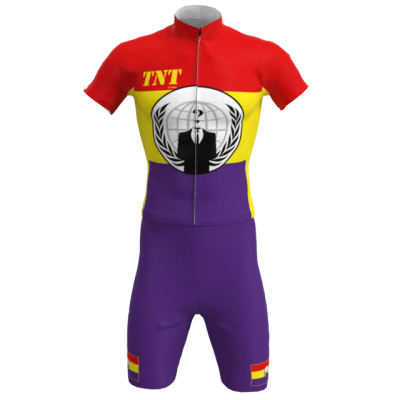 Equipación Corta Bandera Anonymous Republicana Mod. 299 TNT Cycling