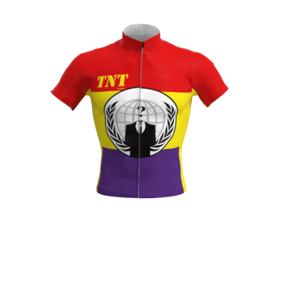 Maillot Corto Bandera Anonymous Republicana Mod. 299 TNT Cycling
