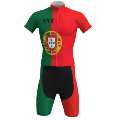 Equipación Corta Bandera Portugal TNT Cycling Mod. 91 TNT Cycling