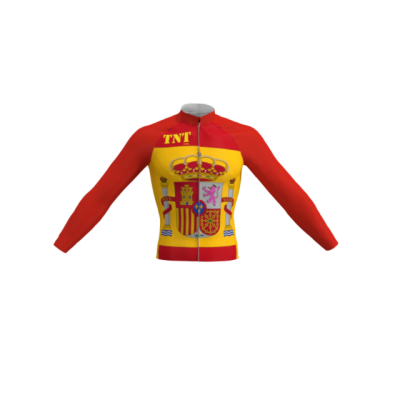 Maillot Largo/Térmico Bandera España TNT Cycling Mod. 93 TNT Cycling