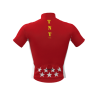 Maillot Corto Bandera Madrid TNT Cycling Mod. 100 TNT Cycling