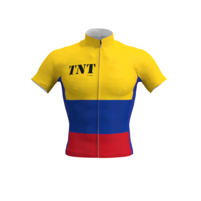 Maillot Corto Bandera Colombia TNT Cycling Mod. 105 TNT Cycling