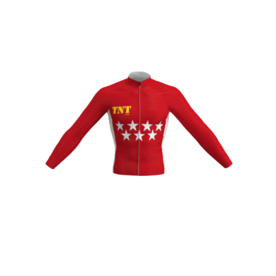 Maillot Largo/Térmico Bandera Madrid TNT Cycling Mod. 111 TNT Cycling