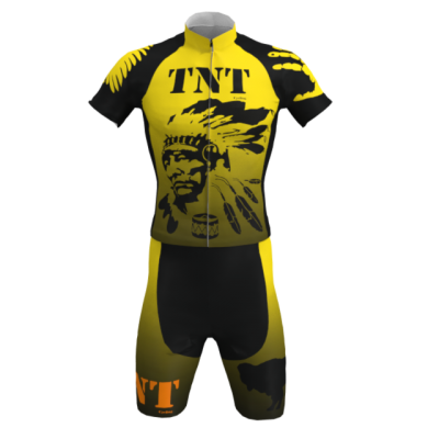Equipación Corta TNT Cycling Mod. 124 TNT Cycling