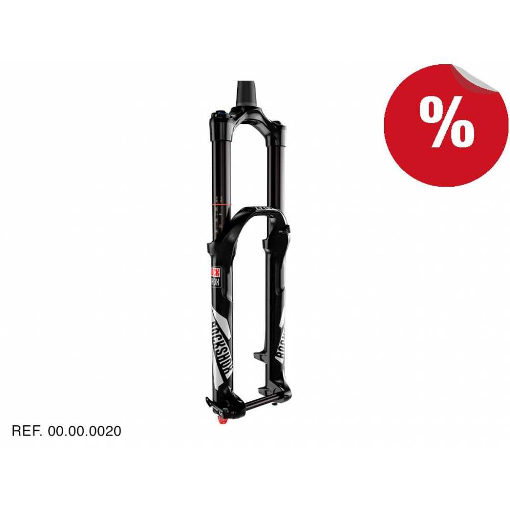 "HORQUILLAS PIKE RCT Negro 27,5"" Boost 160mm Remoto Rockshox"
