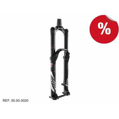 "HORQUILLAS PIKE RCT3 Negro 29"" 160mm 15x110 Manual Rockshox"