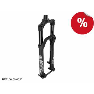 "HORQUILLAS PIKE RCT3 Negro 27,5"" Boost 160mm Manual Rockshox"