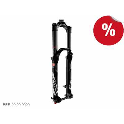 "HORQUILLAS YARI RC Negro 29"" 140mm 15x100 Manual Rockshox"